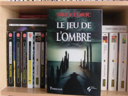Sire Cédric, le jeu de l'ombre, thriller fantastique, roman, suspens